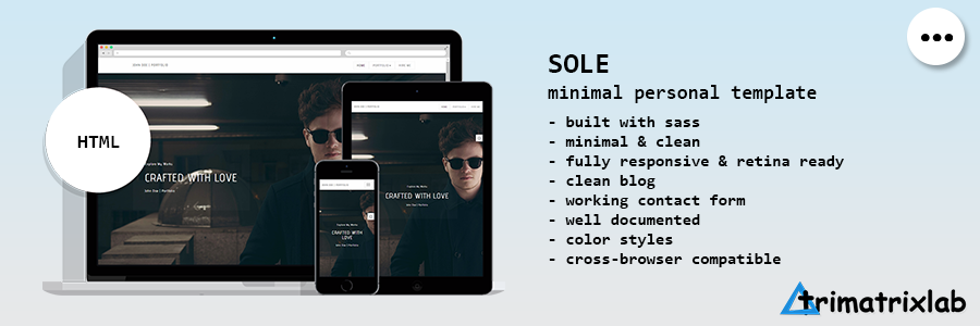 Desktop | Creative Multipurpose HTML5 Template - 3