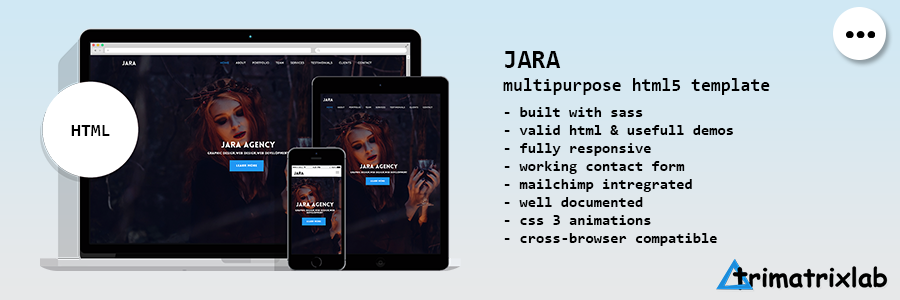 Desktop | Creative Multipurpose HTML5 Template - 4